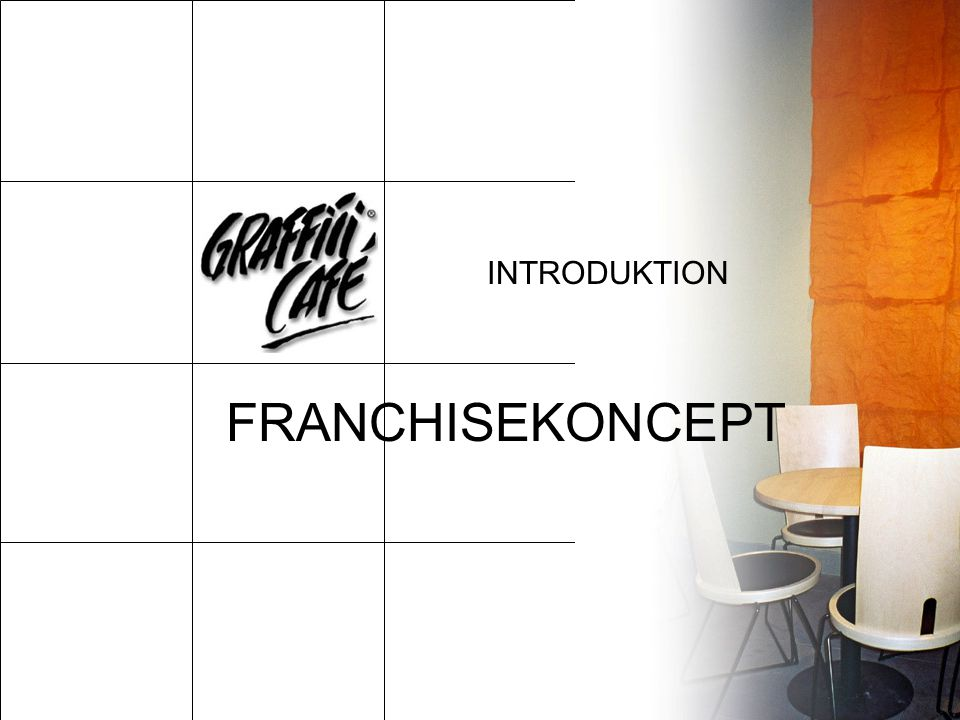 INTRODUKTION FRANCHISEKONCEPT