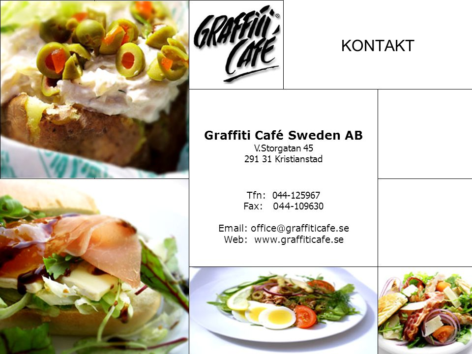 Graffiti Café Sweden AB