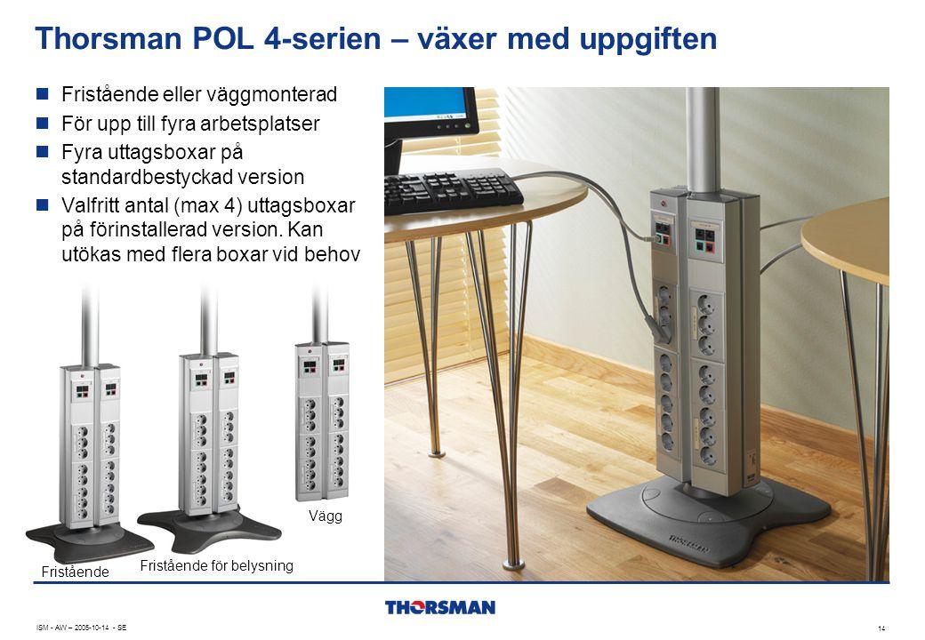 Thorsman POL 4-serien – växer med uppgiften