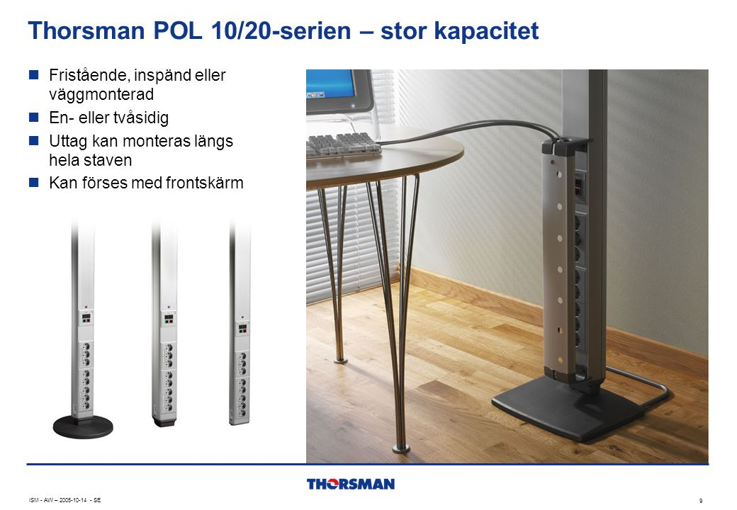 Thorsman POL 10/20-serien – stor kapacitet
