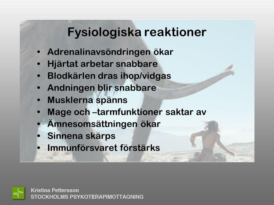 Fysiologiska reaktioner