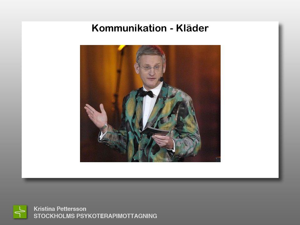 Kommunikation - Kläder