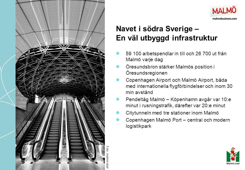 Navet i södra Sverige – En väl utbyggd infrastruktur
