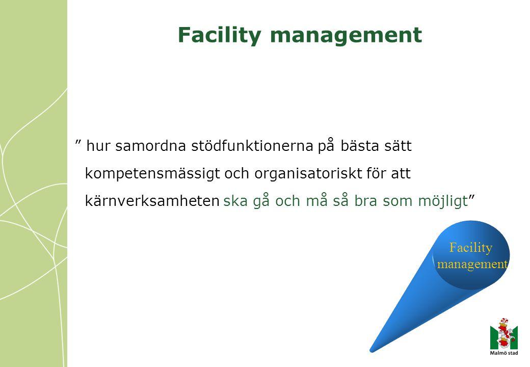 Facility management hur samordna stödfunktionerna på bästa sätt