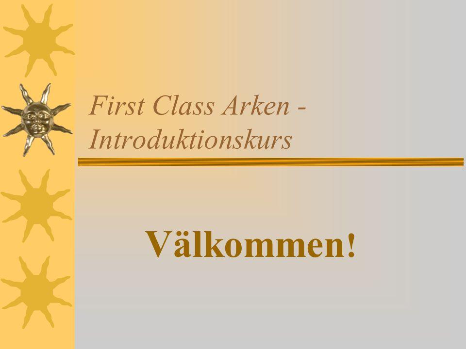 First Class Arken - Introduktionskurs