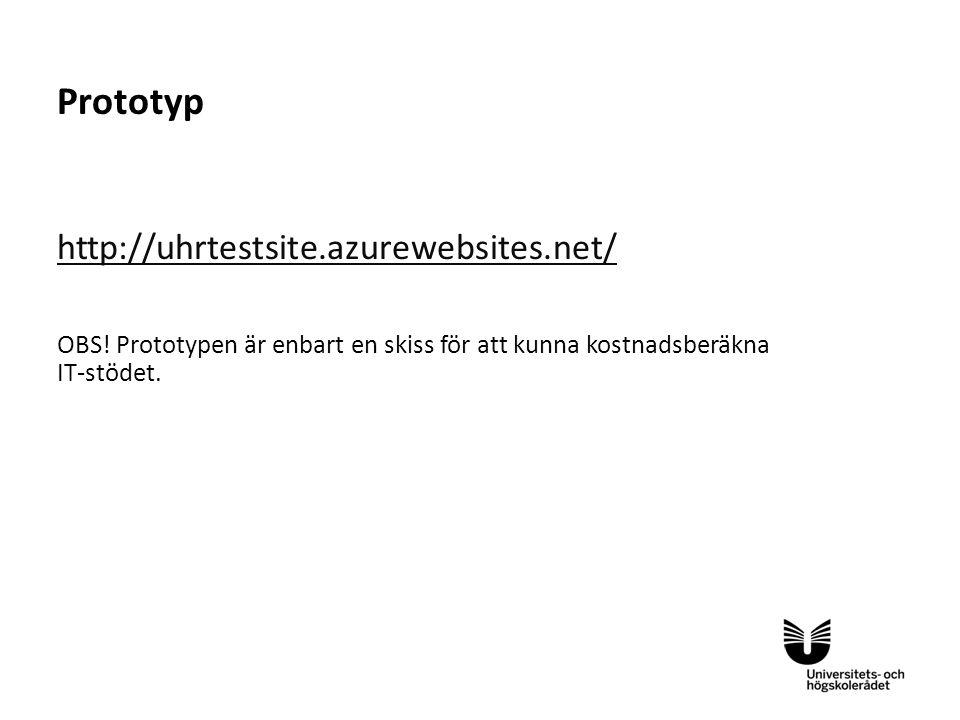 Prototyp http://uhrtestsite.azurewebsites.net/
