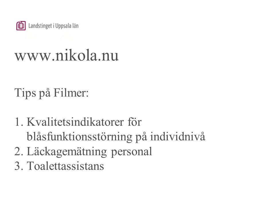 www. nikola. nu Tips på Filmer: 1