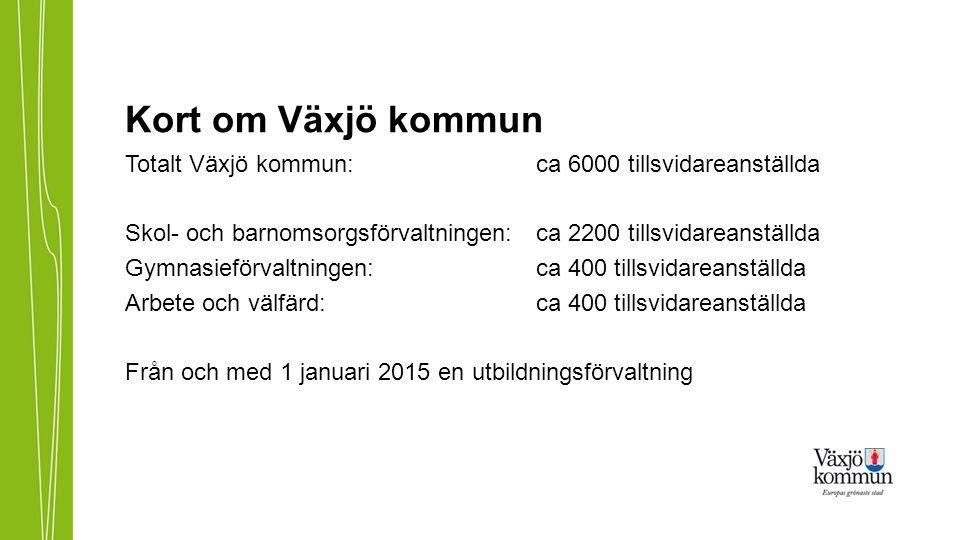 Kort om Växjö kommun