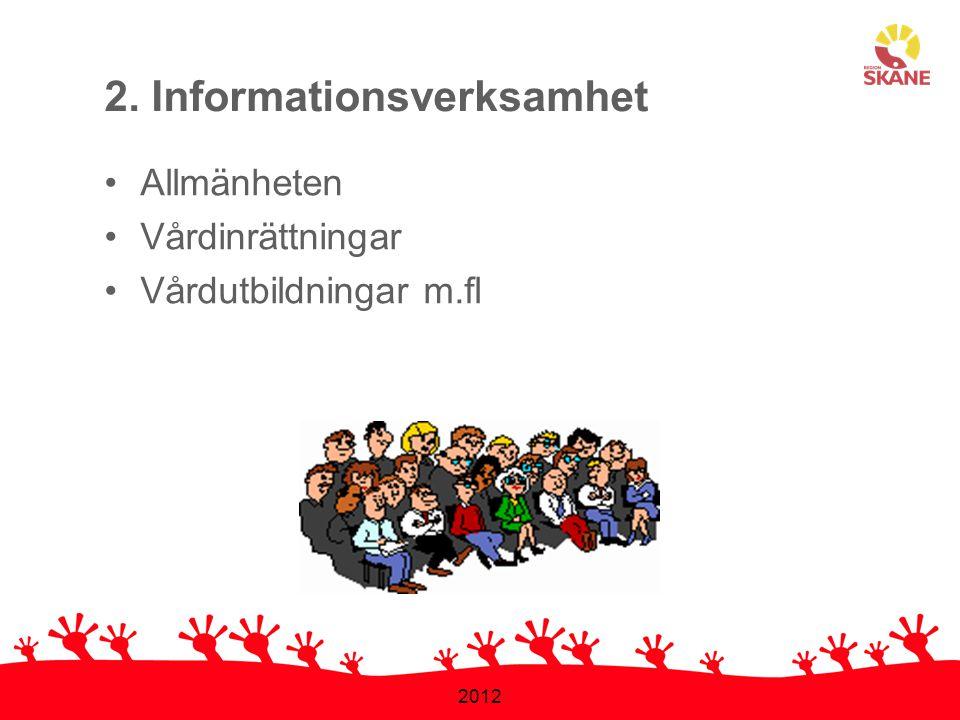 2. Informationsverksamhet