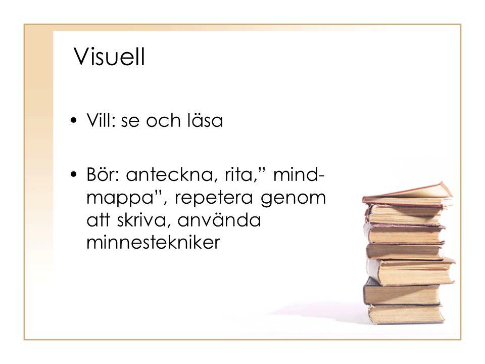 Visuell Vill: se och läsa