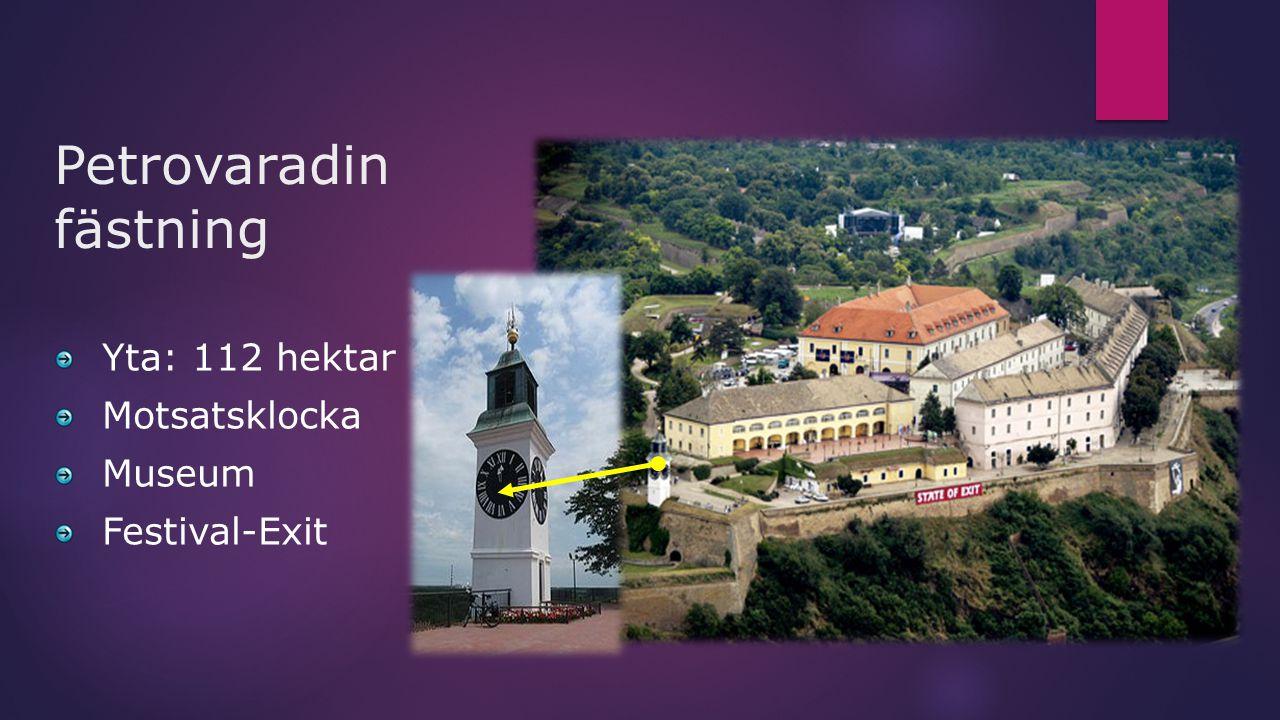 Petrovaradin fästning