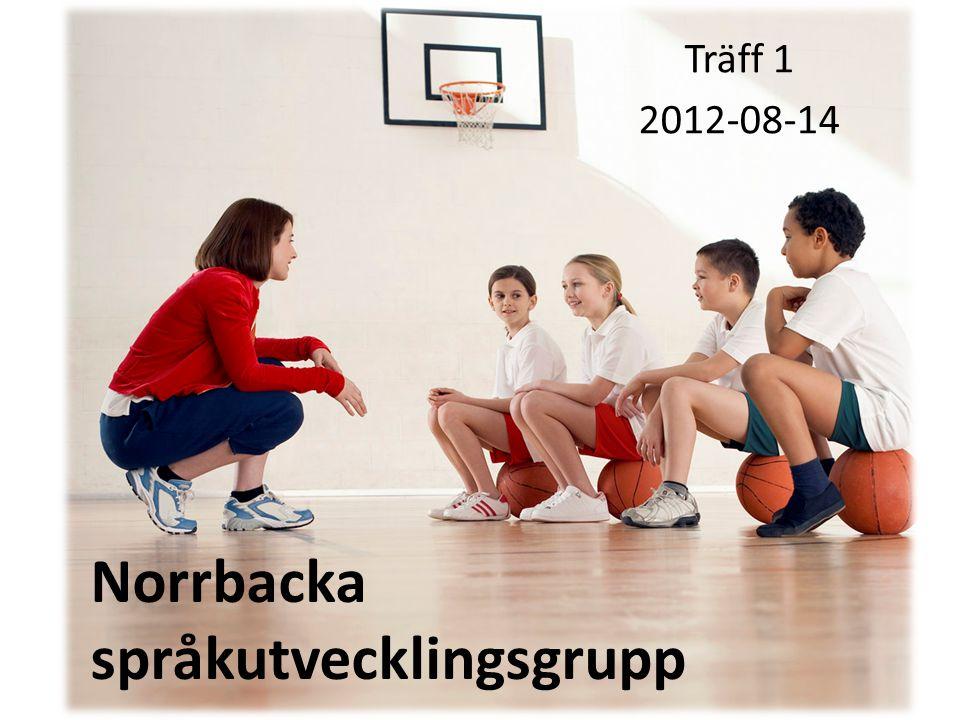 Norrbacka språkutvecklingsgrupp