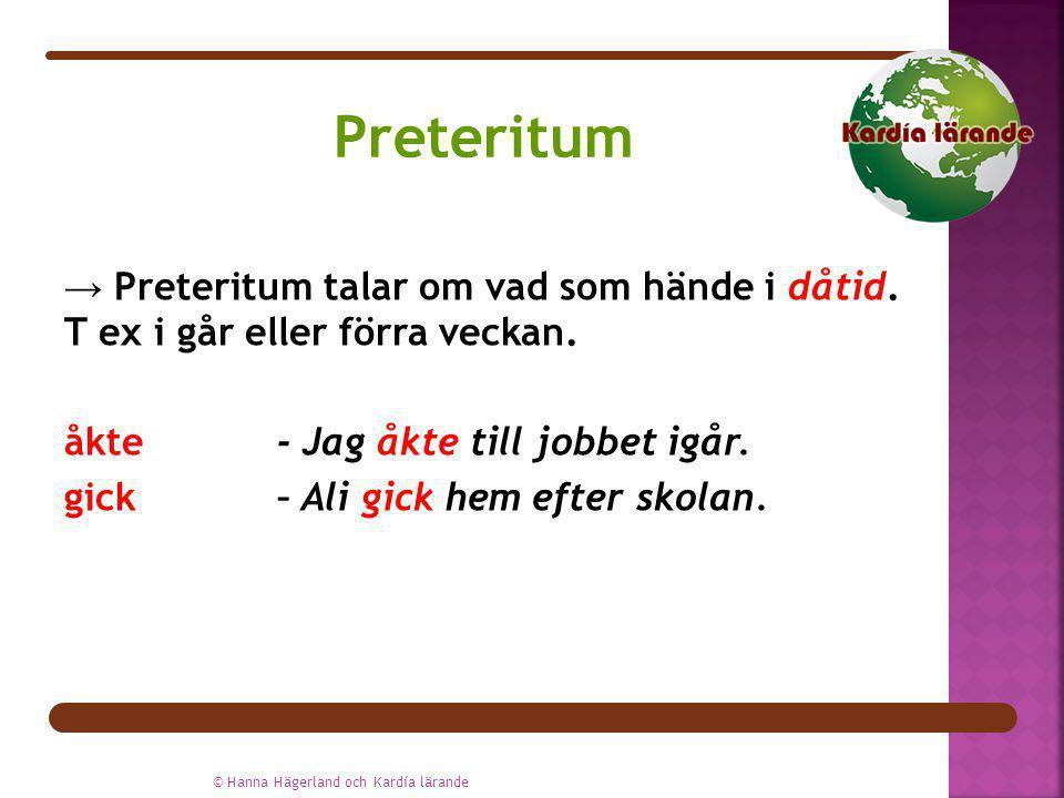 Preteritum