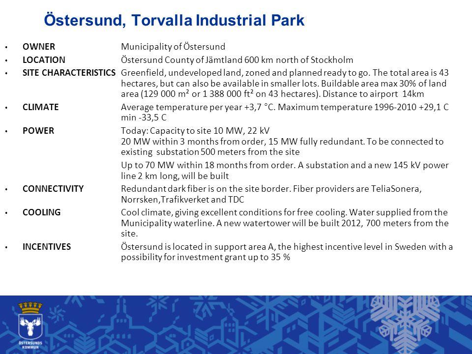 Östersund, Torvalla Industrial Park