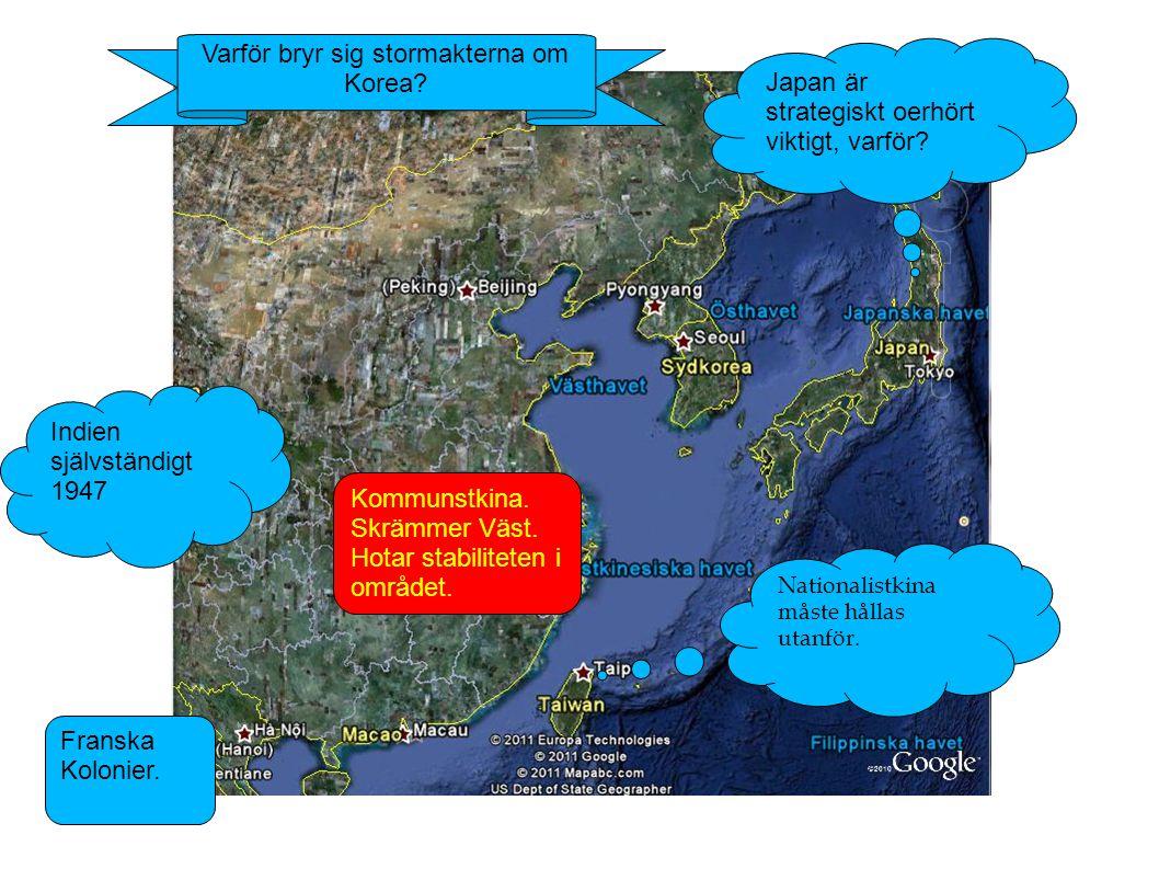 Varför bryr sig stormakterna om Korea