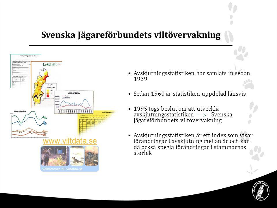 Svenska Jägareförbundets viltövervakning