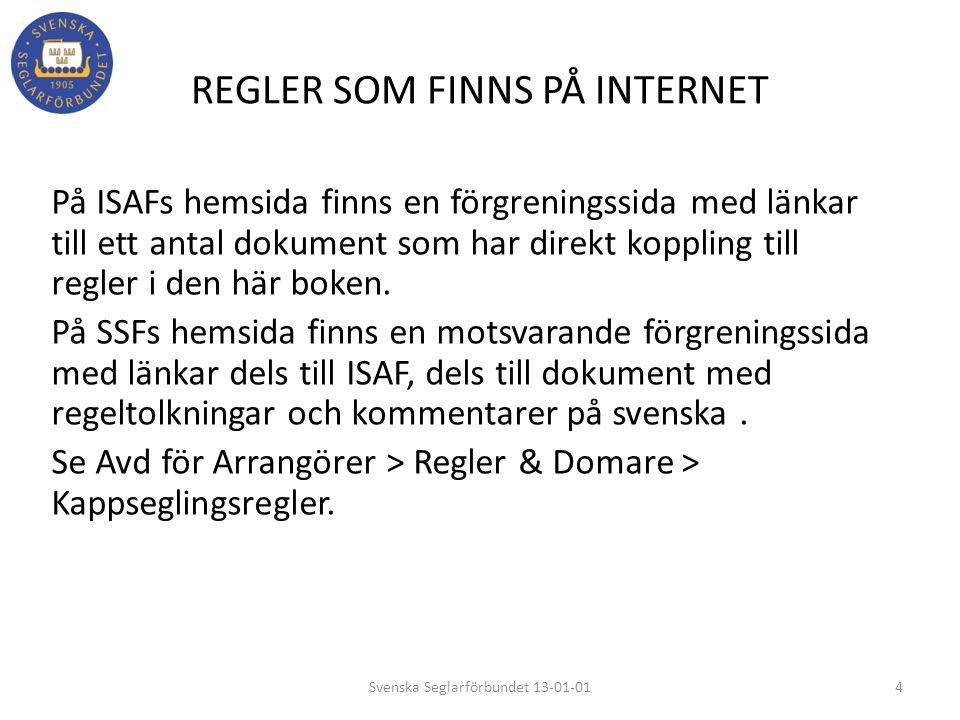 REGLER SOM FINNS PÅ INTERNET