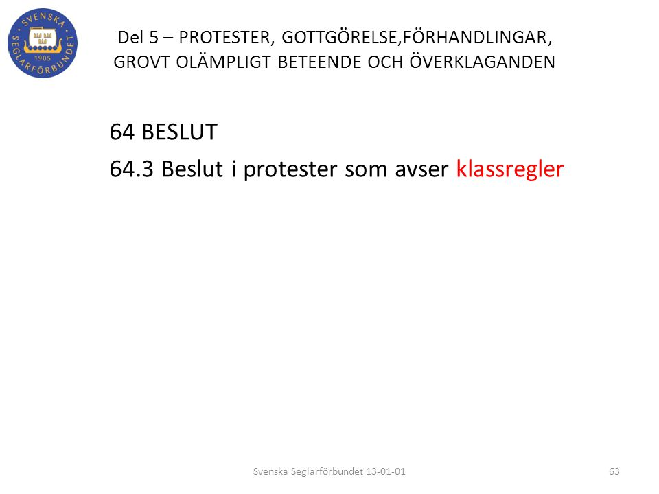 Svenska Seglarförbundet 13-01-01
