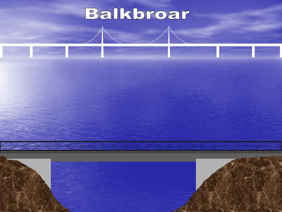 Balkbroar Enkel balkbro brobärverket