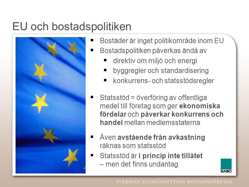 EU och bostadspolitiken