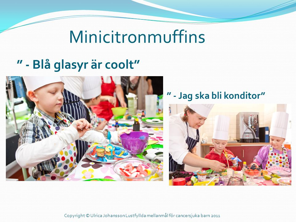 Minicitronmuffins - Blå glasyr är coolt - Jag ska bli konditor
