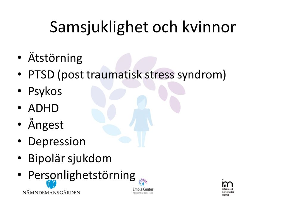 Samsjuklighet och kvinnor