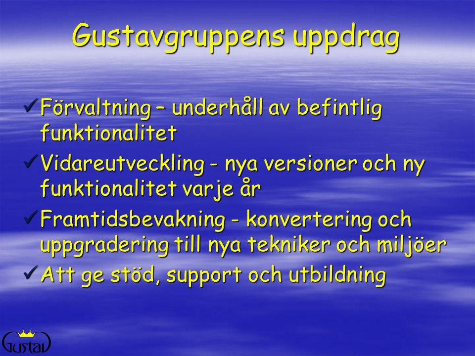 Gustavgruppens uppdrag