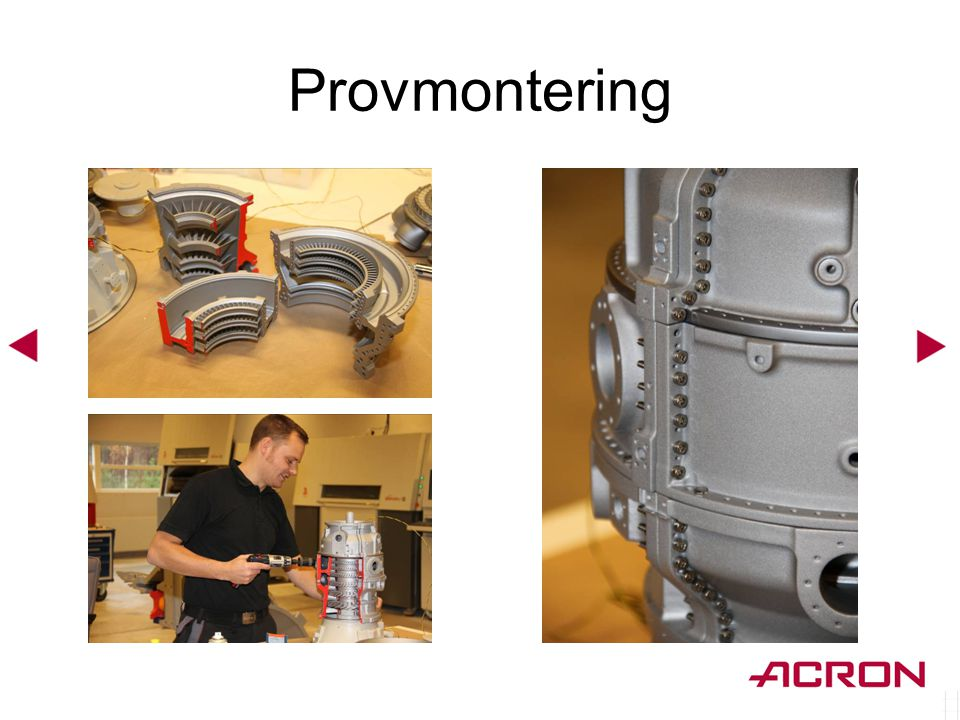 Provmontering