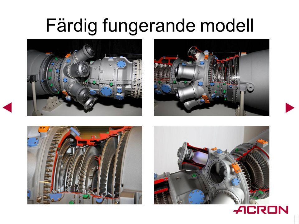 Färdig fungerande modell