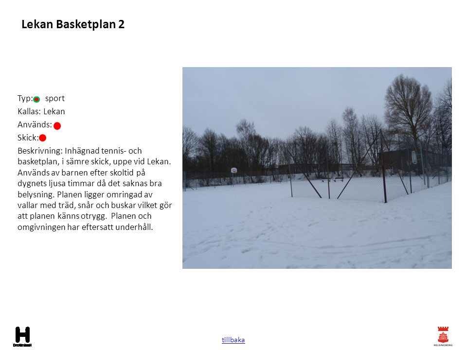 Lekan Basketplan 2 Typ: sport Kallas: Lekan Används: Skick: