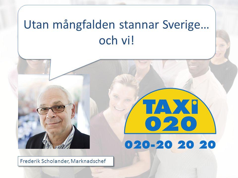Utan mångfalden stannar Sverige… och vi!