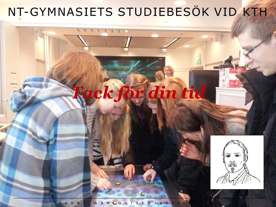 NT-GYMNASIETS STUDIEBESÖK VID KTH