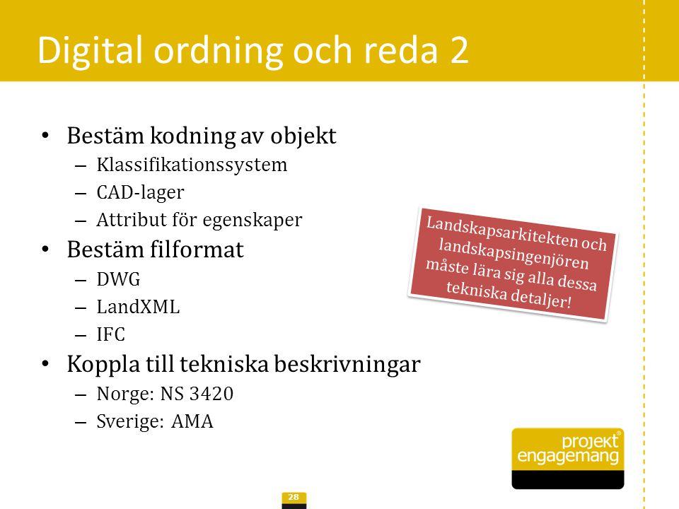 Digital ordning och reda 2