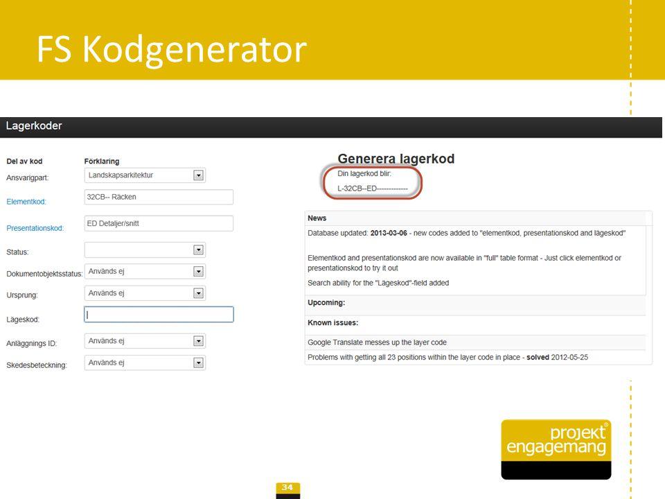 FS Kodgenerator