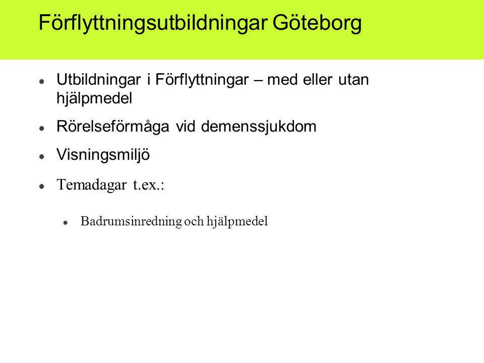 Förflyttningsutbildningar Göteborg