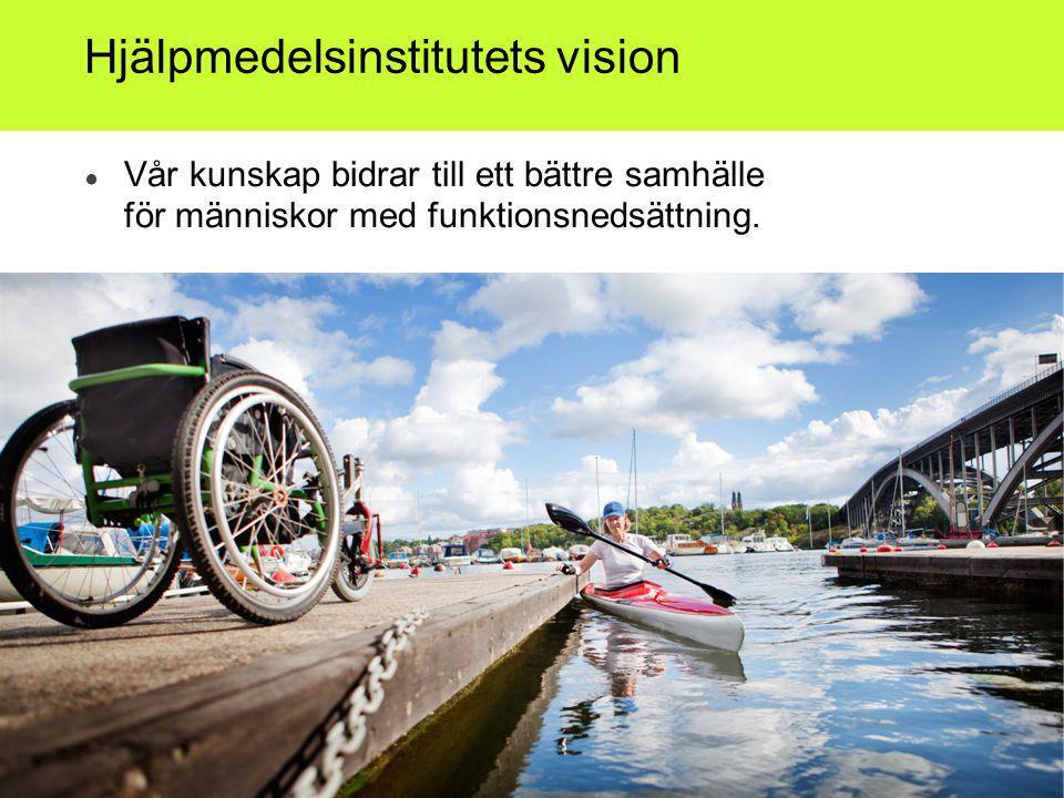 Hjälpmedelsinstitutets vision