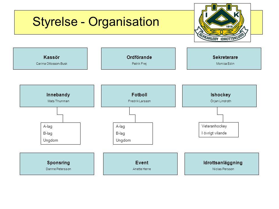 Styrelse - Organisation