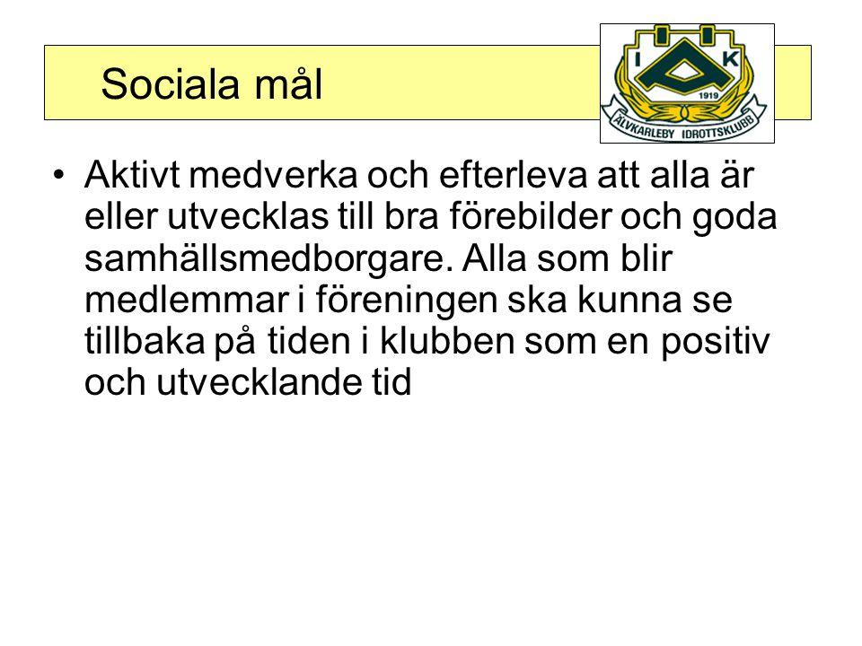 Sociala mål