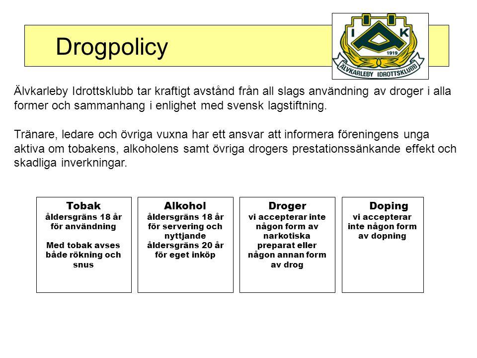 Drogpolicy