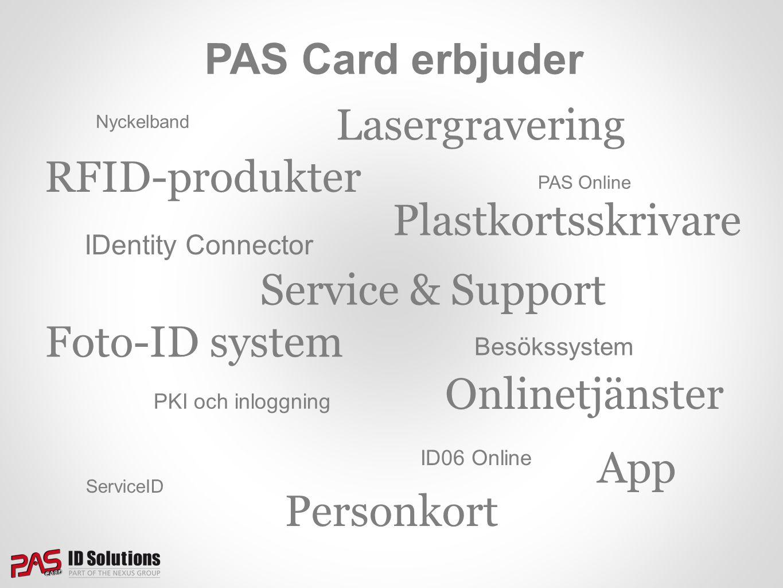 Lasergravering RFID-produkter Plastkortsskrivare Service & Support