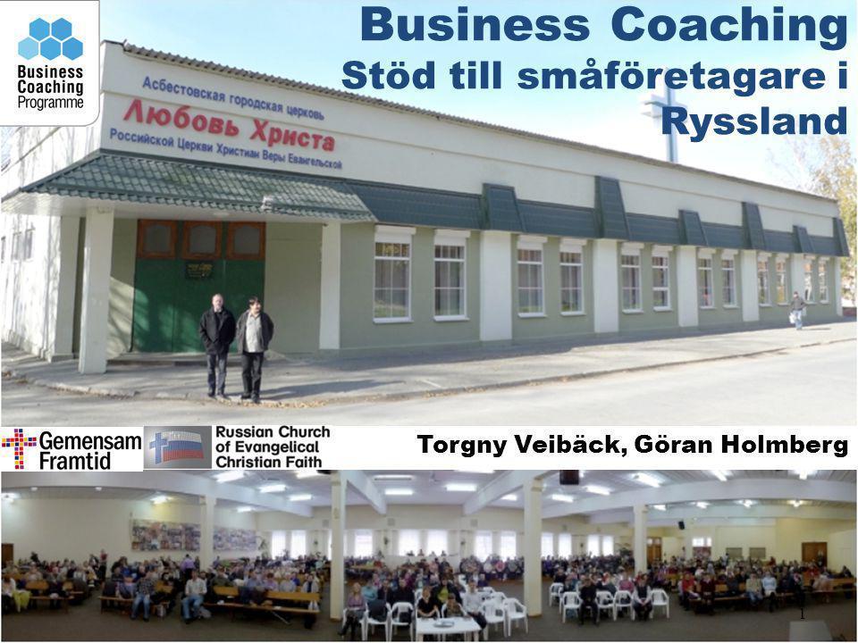 Business Coaching Stöd till småföretagare i Ryssland