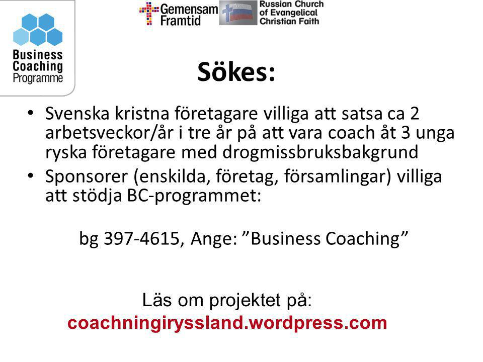 bg 397-4615, Ange: Business Coaching