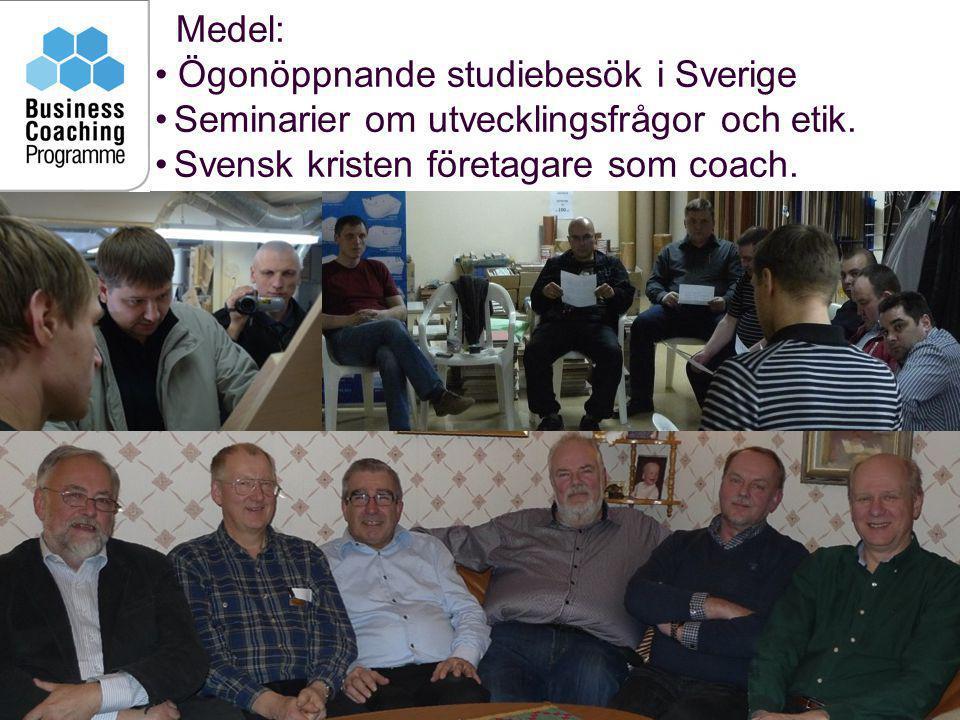 Ögonöppnande studiebesök i Sverige
