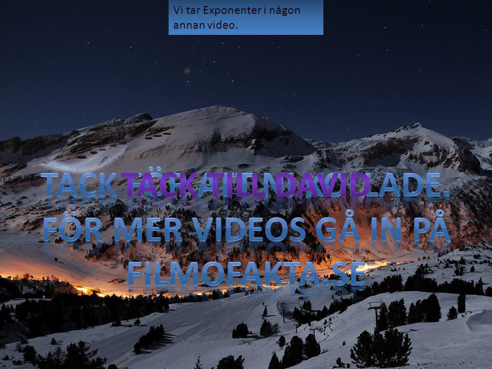Tack för att ni kollade. För mer videos gå in på Filmofakta.se