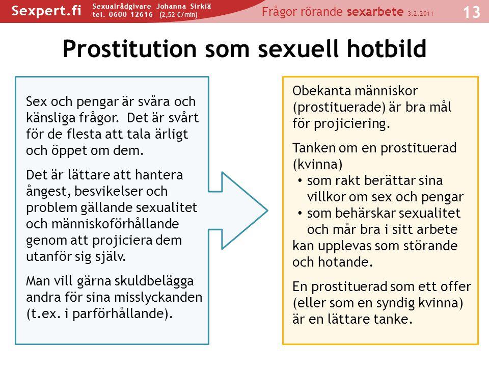 Prostitution som sexuell hotbild
