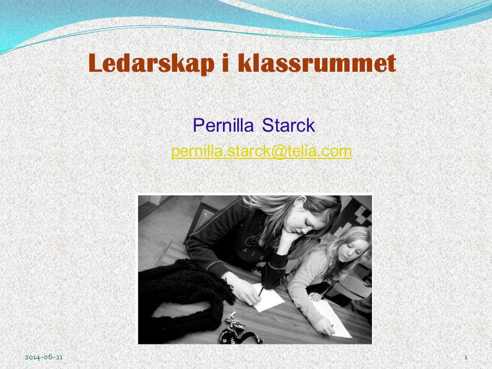 Ledarskap i klassrummet