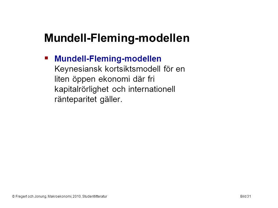 Mundell-Fleming-modellen