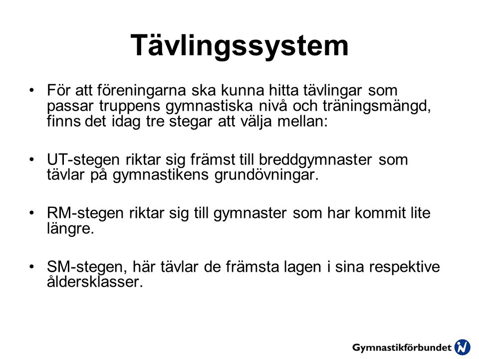 Tävlingssystem