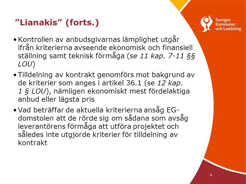 Lianakis (forts.)