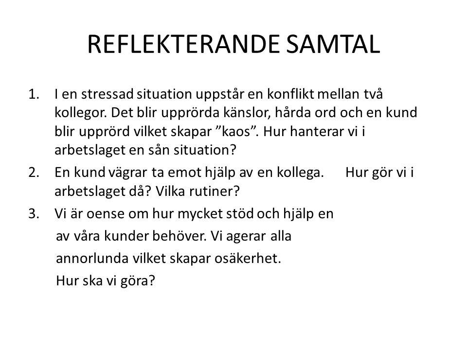 REFLEKTERANDE SAMTAL